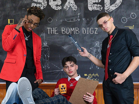 "The Bomb Digz releases their new album ""Sex Ed""."