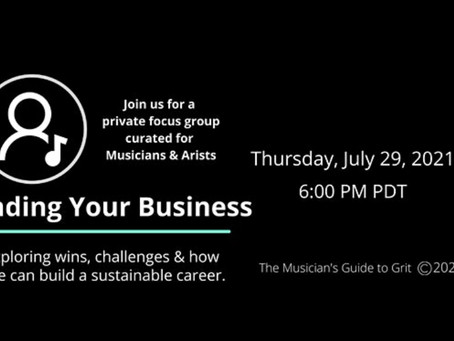 Event: Minding Your Business