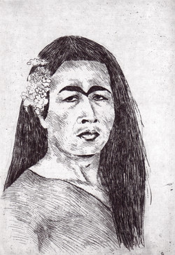 """Pedro Lemebel"", Aguafuerte"