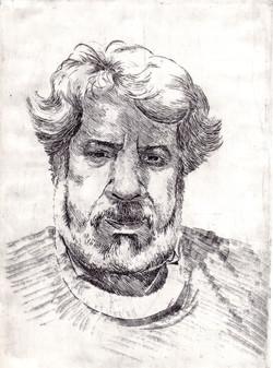 Raúl con barba de 60 años