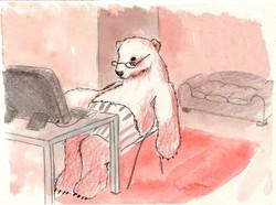 historias de un oso, teletrabajo pandemi