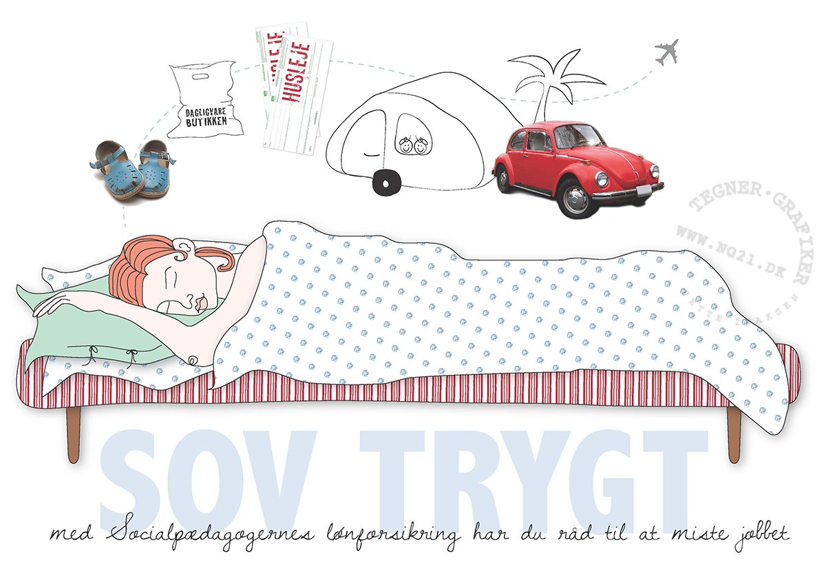 illustration for Socialpædagogernes