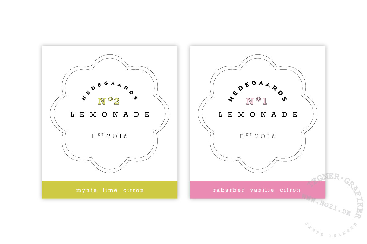 logodesign + etiketter