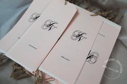 romantiske bordkort bryllup