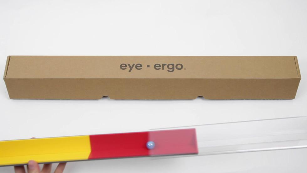 eye ergo unboxing turorial