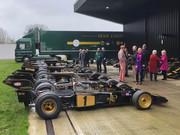 Black & Gold at Classic Team Lotus