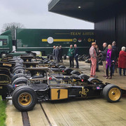 Black & Gold at Classic Team Lotus