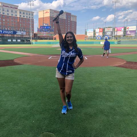 OKC Dodgers • In-Game Host • Oklahoma City, OK