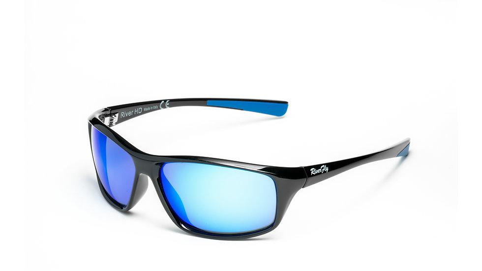 Fly - Lente Specchiata Blu / Nero