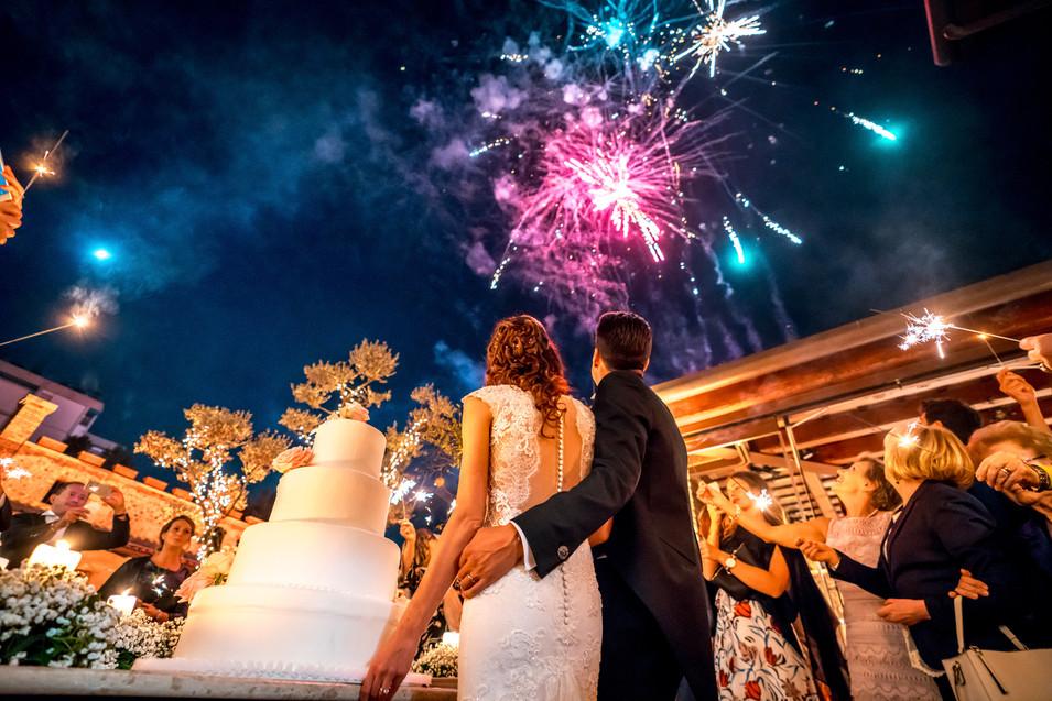 Wedding party matrimonio coppia sposi bo