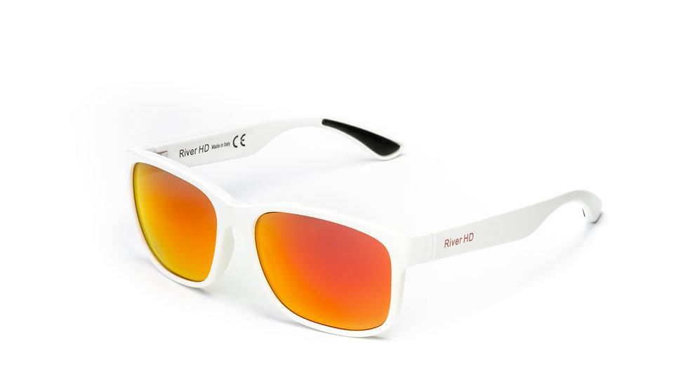 One - Lente Specchiata Rossa / Bianco