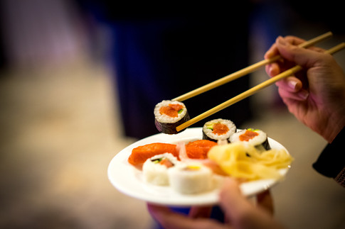 sushi party food photography piatto rist