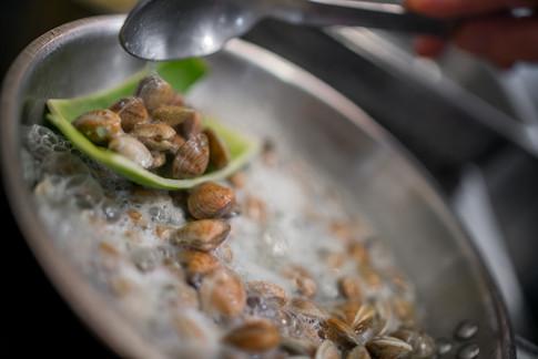 preparazione piatto pesce food photograp