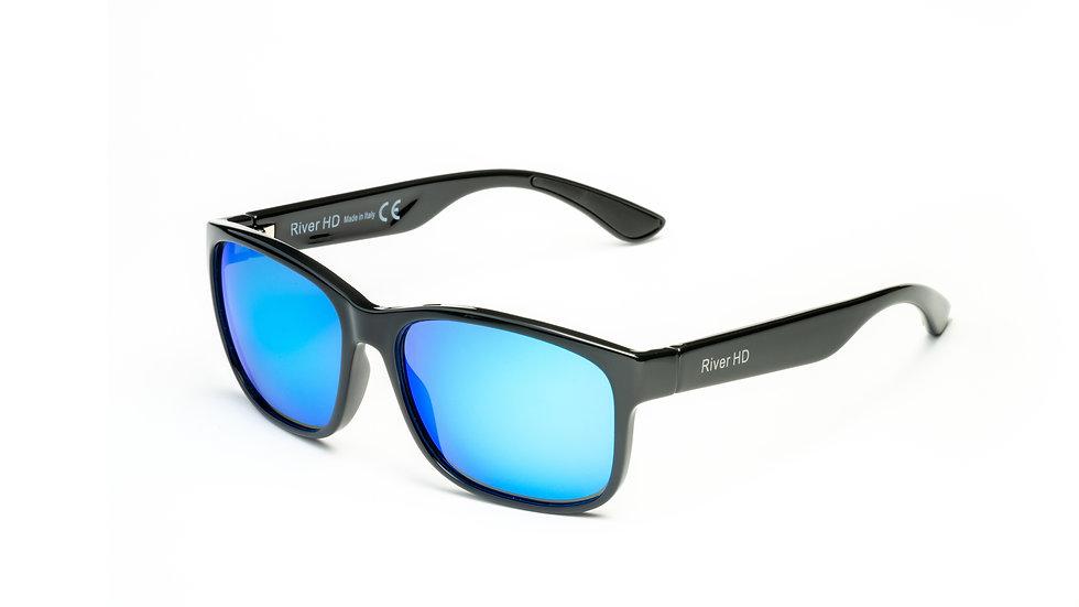 One - Lente Specchiata Blu / Nero