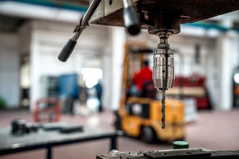 Still life foto meccanica settore indust