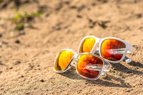still life prodotto foto occhiali da sol