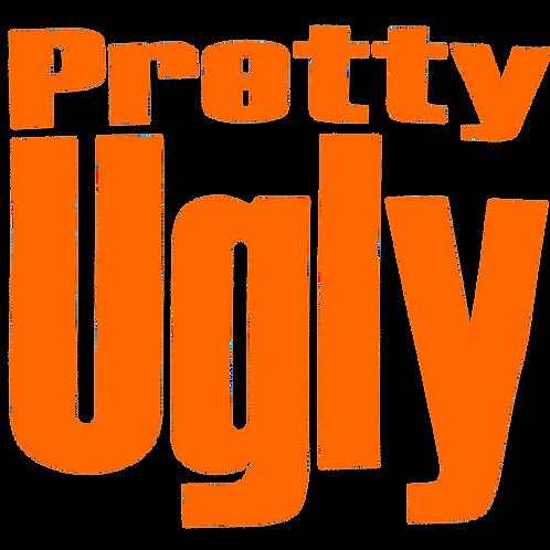 Kids Fat Vinyl Hoodie - Orange Font