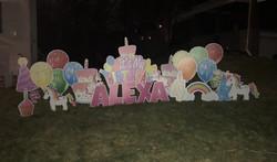 Happy 4th Birthday to Alexa