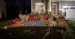 Happy 6th Birthday to Mason!