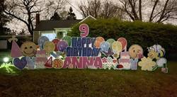 Happy 9th birthday to Anna