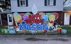 Happy 8th Birthday to Mason!