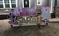 Happy 12th Birthday to Sarah!