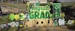 Penn Trafford School District Senior High Graduate Yard Card sign Display