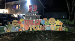 Happy 53rd Birthday Billy - Love you Heart