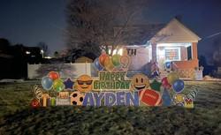 Happy 9th Birthday Ayden