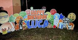 Happy 8th Birthday Luca!