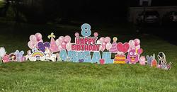 Happy 8th Birthday to Abigail!