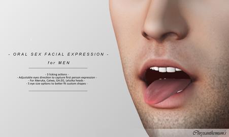 Oral Sex Facial Expression (Male)