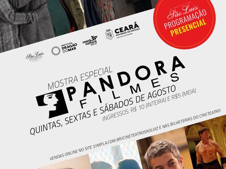 Cineteatro São Luiz exibe Mostra Pandora Filmes em agosto