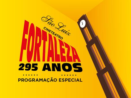 Com exposição, lives e mostra de filmes, Cineteatro São Luiz celebra os 295 anos de Fortaleza