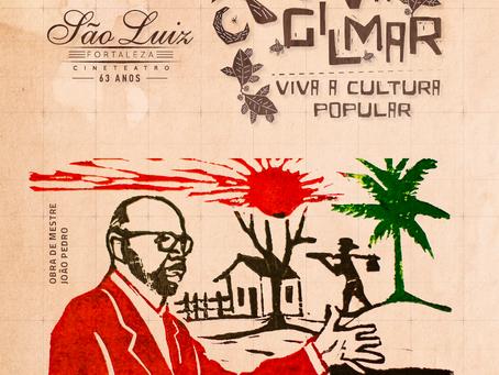 Cineteatro São Luiz celebra Dia da Cultura Popular com homenagem a Gilmar de Carvalho