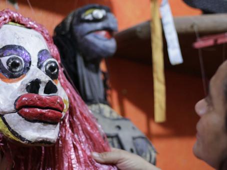 galeria virtual do cineteatro recebe exposição sobre teatro de bonecos no ceará
