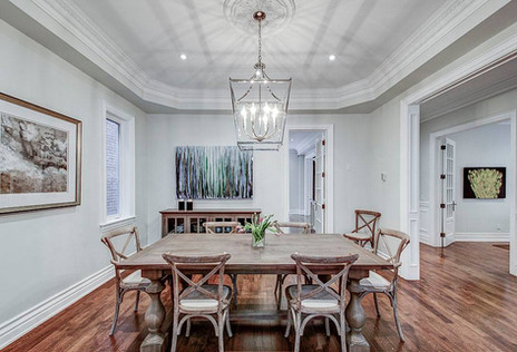 In Home Design Co | dining room design