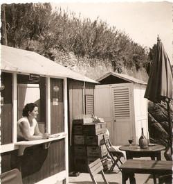 Nonna Luisa in una delle prime foto.