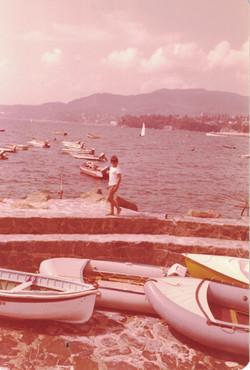 Alessandro nell'estate del '76.