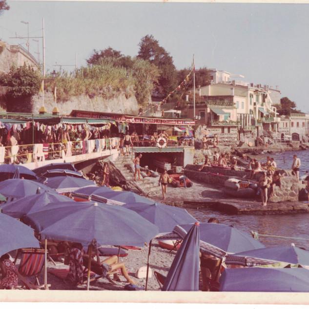i Bagni Bristol nell'estate del 1971.