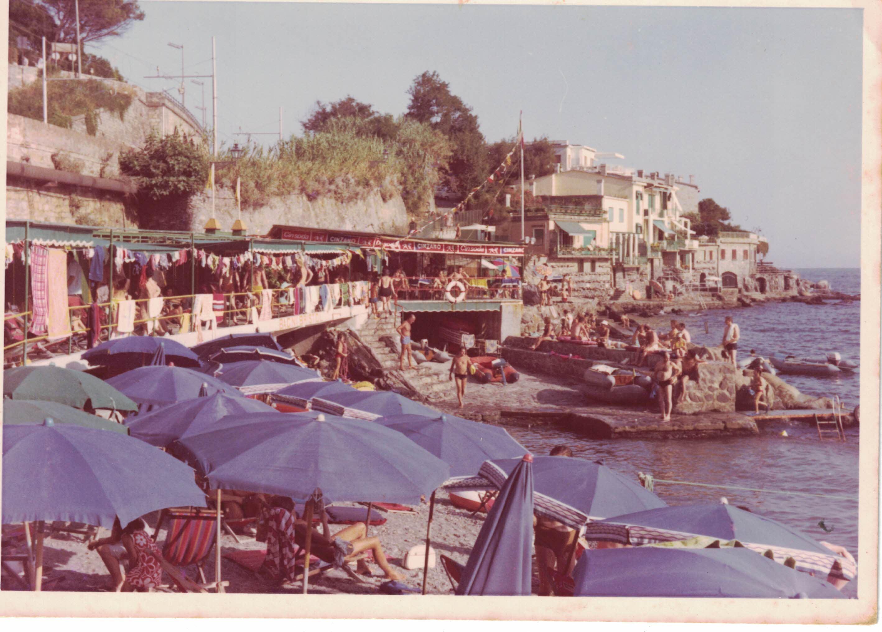 I Bagni Bristol nell'estate del '71.