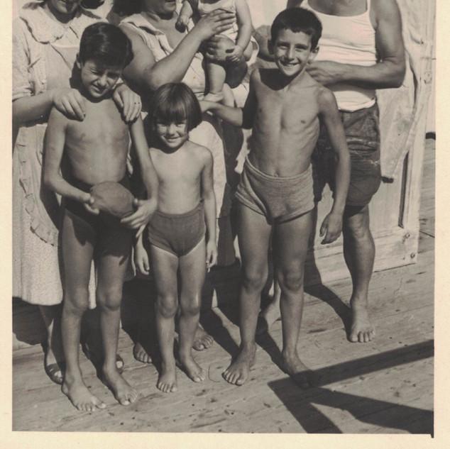 Ritratto di una giornata estiva degli anni 50.