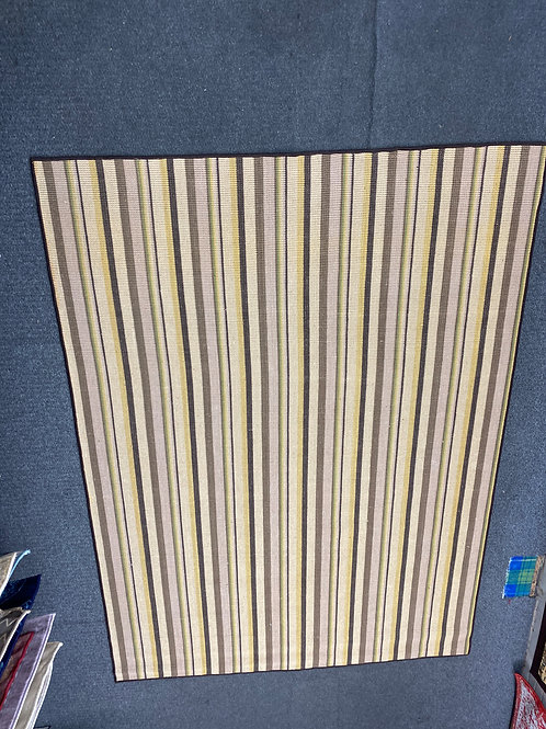 Palm fiber stripes