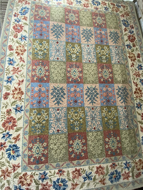 Chinese Hand hooked wool rug