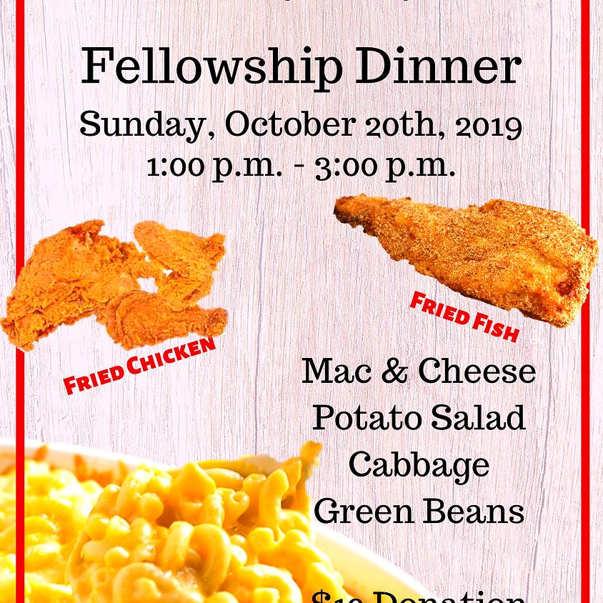 Culinary Ministry Fellowship Dinner