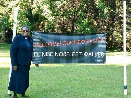 Welcome Rev. Norfleet-Walker