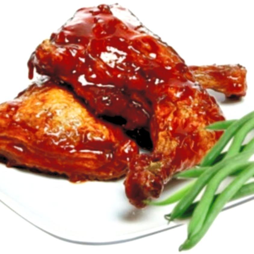 Family Fellowship Dinner - BBQ or Baked Chicken  $10 Donation