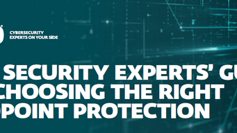 THE SECURITY EXPERTS' GUIDE TO CHOOSING THE RIGHT ENDPOINT PROTECTION