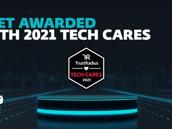 ESET earns a 2021 Tech Cares Award from TrustRadius