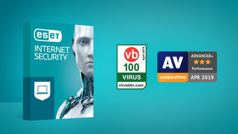 ESET Internet Security recognized with awards from AV Comparatives and Virus Bulletin